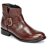 Schoenen Dames Laarzen Hush puppies DORAN Brown / Donker