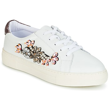 Schoenen Dames Lage sneakers Dune London EMERALDA Wit