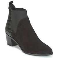 Schoenen Dames Enkellaarzen Dune London OPRENTICE  zwart