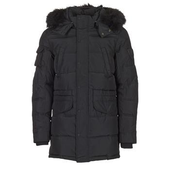 Textiel Heren Dons gevoerde jassen Redskins CARL Zwart