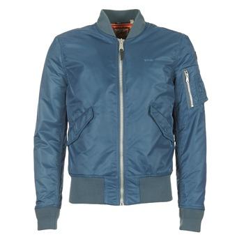 Textiel Heren Wind jackets Schott BOMBER BY SCHOTT Blauw