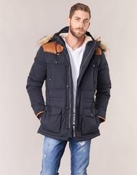 Textiel Heren Dons gevoerde jassen Schott ARIZONA Blauw / Marine