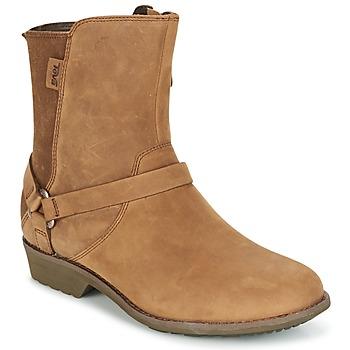 Schoenen Dames Laarzen Teva DE LA VINA DOS Brown