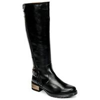 Schoenen Dames Hoge laarzen Casual Attitude HAPO Zwart