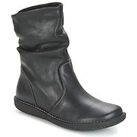 Schoenen Dames Laarzen Casual Attitude HAPANO Zwart