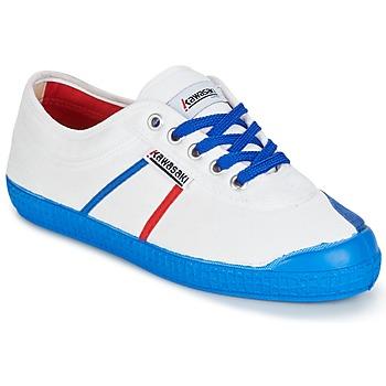 Schoenen Heren Lage sneakers Kawasaki BASIC FANTASY Wit / Blauw