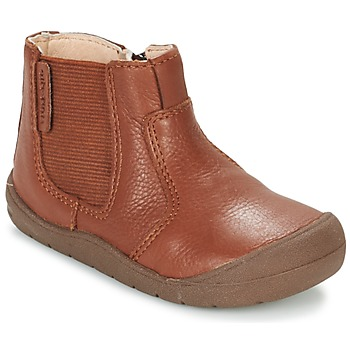 Schoenen Kinderen Laarzen Start Rite FIRST CHELSEA Brown