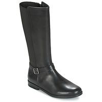 Schoenen Meisjes Hoge laarzen Start Rite GRACE LONG Zwart