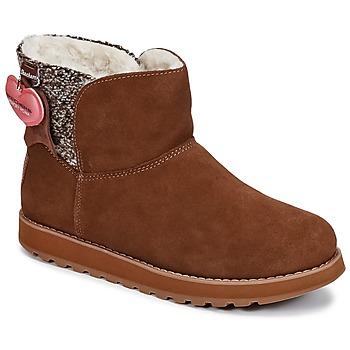 Schoenen Dames Laarzen Skechers KEEPSAKES Brown