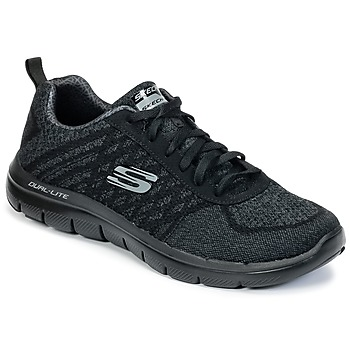 Schoenen Heren Fitness Skechers FLEX ADVANTAGE 2.0 - Zwart