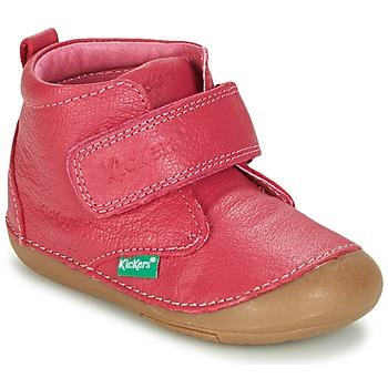 Schoenen Meisjes Laarzen Kickers SABIO  fuchsia
