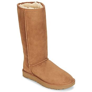 Schoenen Dames Hoge laarzen UGG CLASSIC TALL II Brown