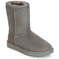 Schoenen Dames Laarzen UGG CLASSIC SHORT II Grijs