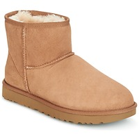 Schoenen Dames Laarzen UGG CLASSIC MINI II Brown