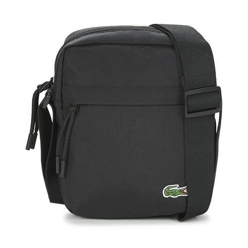 Tassen Heren Tasjes / Handtasjes Lacoste NEOCROC Zwart