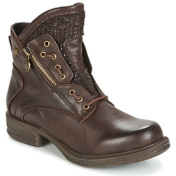 Schoenen Dames Laarzen Dockers by Gerli CORTA Brown