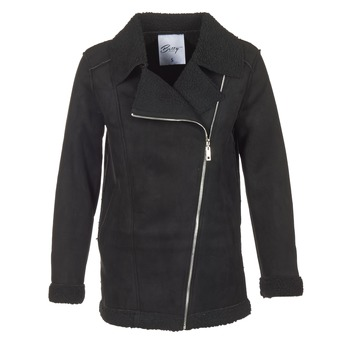 Textiel Dames Mantel jassen Betty London HARMI Zwart