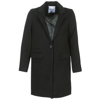 Textiel Dames Mantel jassen Betty London HODISSE Zwart