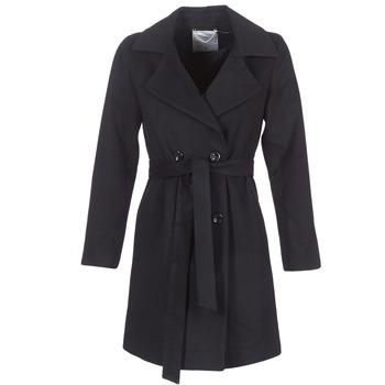 Textiel Dames Mantel jassen Casual Attitude HALLOA Zwart