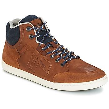 Schoenen Heren Hoge sneakers Kickers CRAFFITI  CAMEL