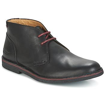 Schoenen Heren Laarzen Kickers MISTIC Zwart