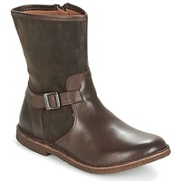 Schoenen Dames Laarzen Kickers CREEK Brown / Donker