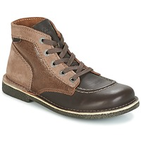 Schoenen Dames Laarzen Kickers LEGENDIKNEW Brown / Donker