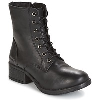 Schoenen Dames Laarzen Kickers REKABBY Zwart