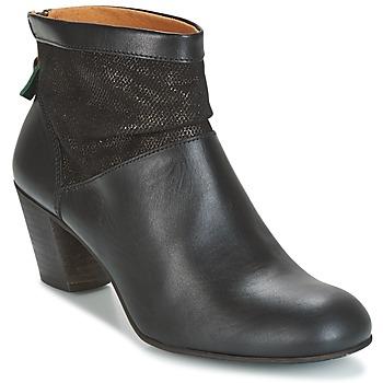 Schoenen Dames Enkellaarzen Kickers SEETY Zwart