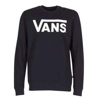 Textiel Heren Sweaters / Sweatshirts Vans VANS CLASSIC CREW Zwart