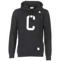Textiel Heren Sweaters / Sweatshirts Converse CONVERSE ESSENTIALS COLLEGIATE STAR PULLOVER HOODIE Zwart