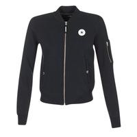 Textiel Dames Jasjes / Blazers Converse CORE MA-1 BOMBER Zwart