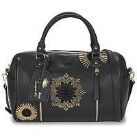 Tassen Dames Handtassen kort hengsel Desigual BOLS_SIDNEY RUBI Zwart