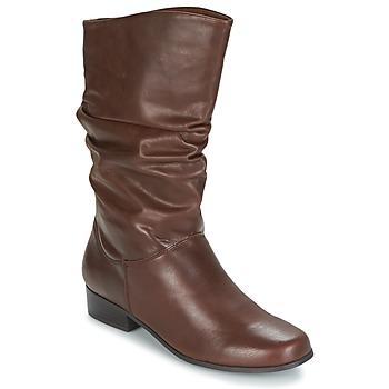 Schoenen Dames Hoge laarzen Spot on LAVAS  camel