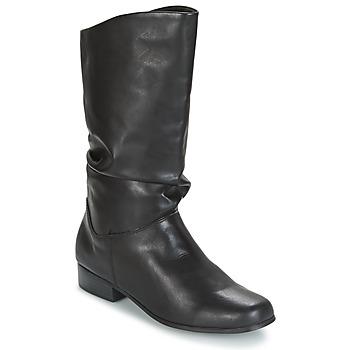 Schoenen Dames Hoge laarzen Spot on DIURO Zwart