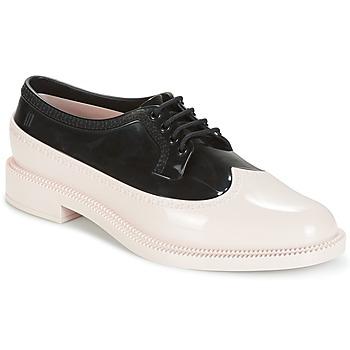 Schoenen Dames Derby Melissa CLASSIC BROGUE AD. Roze / Zwart
