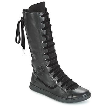 Schoenen Dames Hoge laarzen Pataugas JINA Zwart