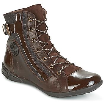 Schoenen Dames Hoge sneakers Pataugas NOUR Brown