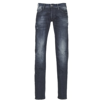 Textiel Heren Straight jeans Le Temps des Cerises 711 Blauw / MEDIUM