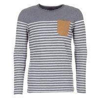 Textiel Heren T-shirts met lange mouwen Le Temps des Cerises VINCENT Grijs