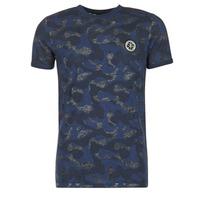 Textiel Heren T-shirts korte mouwen Le Temps des Cerises CAMOSTORK Marine
