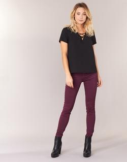 Textiel Dames Skinny jeans Le Temps des Cerises 316 Prune