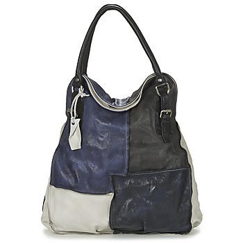 Tassen Dames Handtassen kort hengsel Airstep / A.S.98 LOUZI Blauw / Zwart
