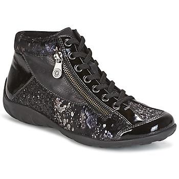 Schoenen Dames Hoge sneakers Remonte Dorndorf DORA Zwart
