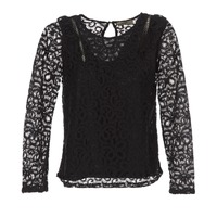 Textiel Dames Tops / Blousjes Betty London HELO Zwart