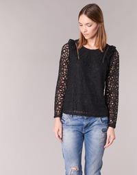 Textiel Dames Tops / Blousjes Betty London HELO Zwart