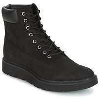 Schoenen Dames Laarzen Timberland KENNISTON 6IN LACE UP BOOT Zwart