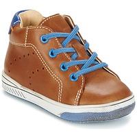Schoenen Meisjes Hoge sneakers Babybotte ANKARA  CAMEL