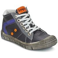 Schoenen Jongens Hoge sneakers Babybotte KANADA Grijs / Donker