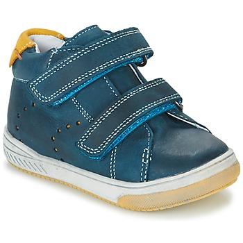 Schoenen Jongens Hoge sneakers Babybotte ANTILLES Blauw